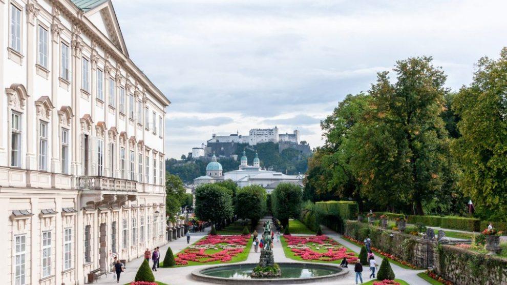 Austria - Salzburg, garden, Experience Salzburg - travel