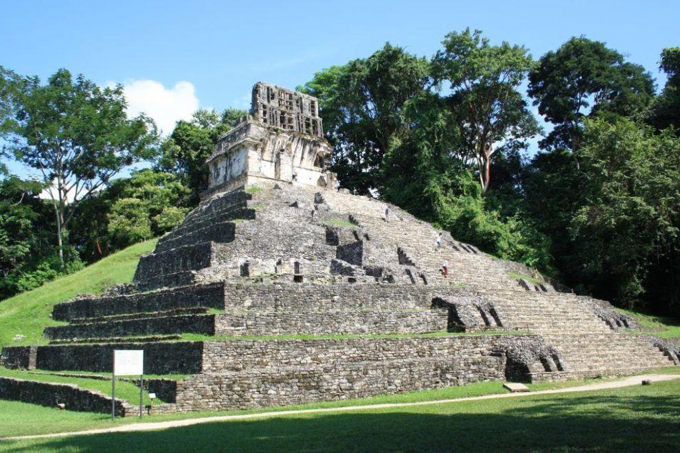 Mexico Palenque Ruin Rejser