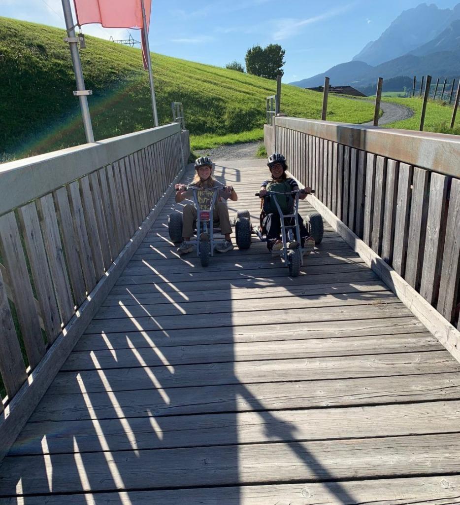 Austria Tyrol st johann bundok ng mga cart ng bundok naglalakbay