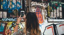 Tyskland Street art Grafitti St. Pauli Rejser