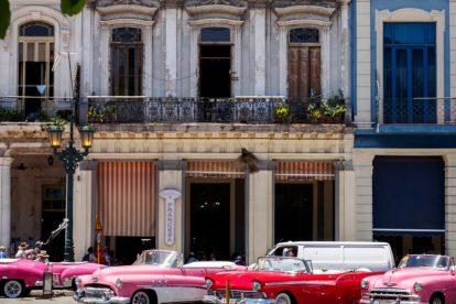 キューバ-ハバナ-車-旅行