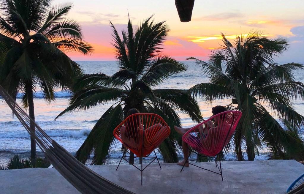 Messico, La Saladita, surf