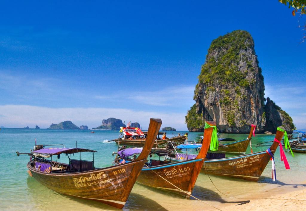 Thailand Phra Nang Rejser