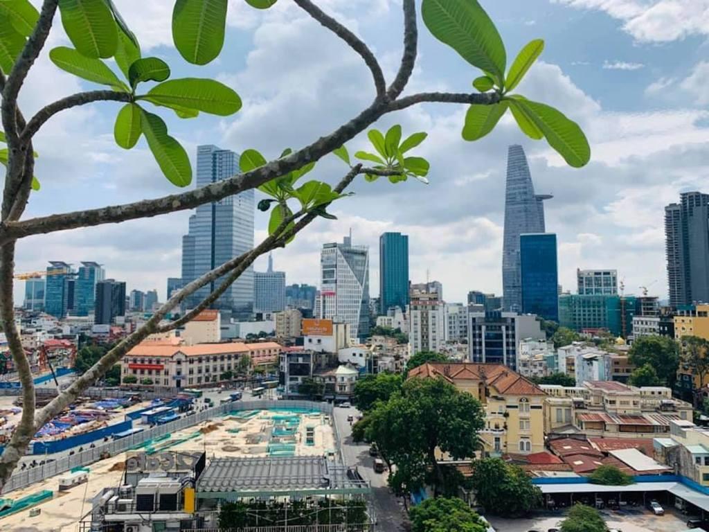 Vietnam Ho Chi Minh City Skyskraber Rejser