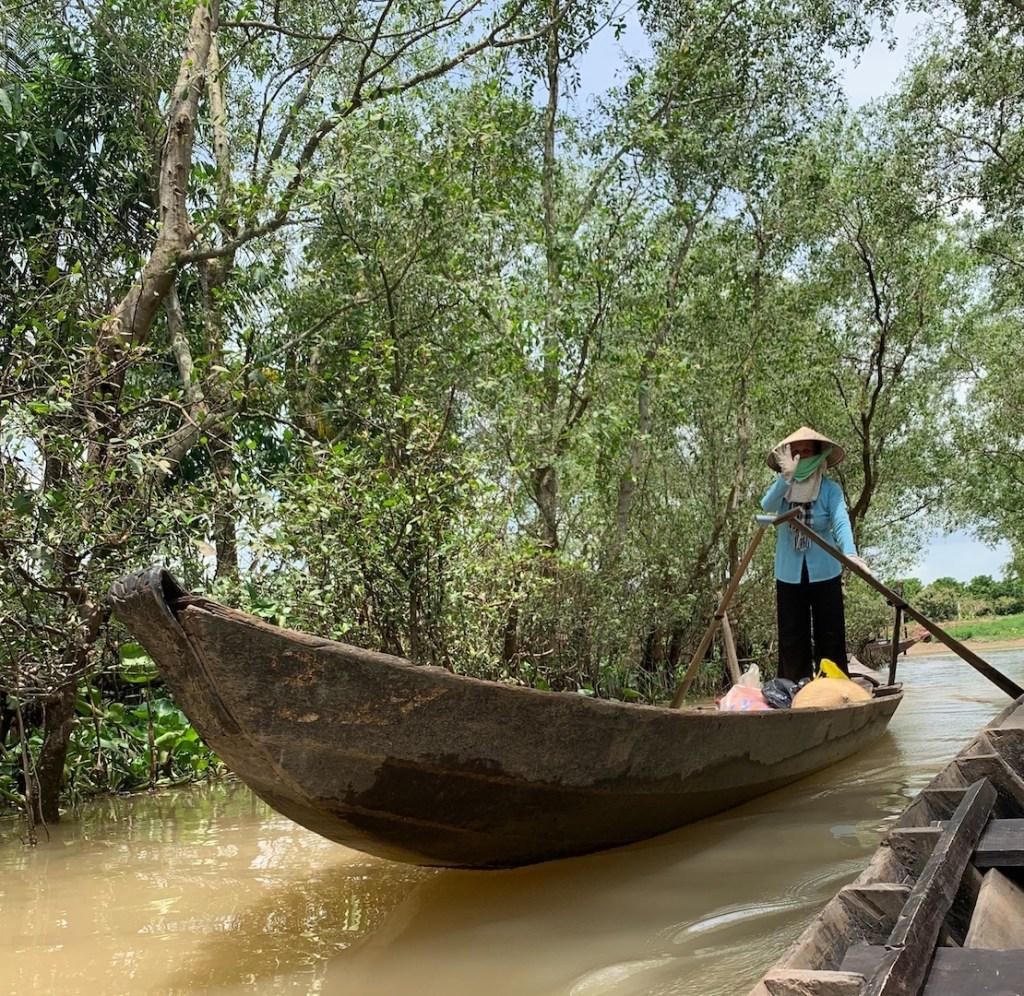 Vietnam Mekong Delta Båd Rejser
