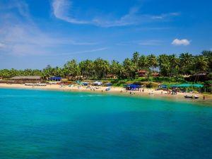 Inde Voyage sur la plage de Goa