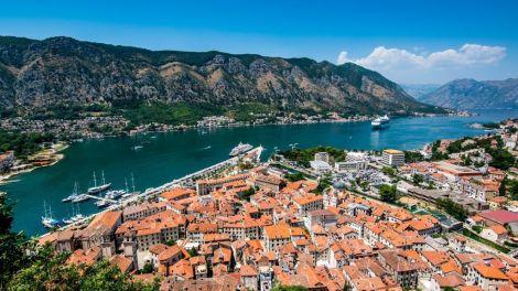 Montenegro Kotor Udsigt Rejser