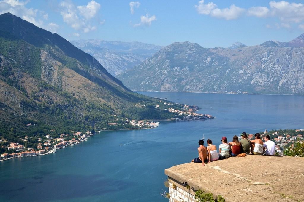 Montenegro Balkan Kotor Bugt Rejser