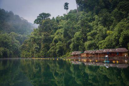Thailand Khao Sok National Park River Rainforest Travel
