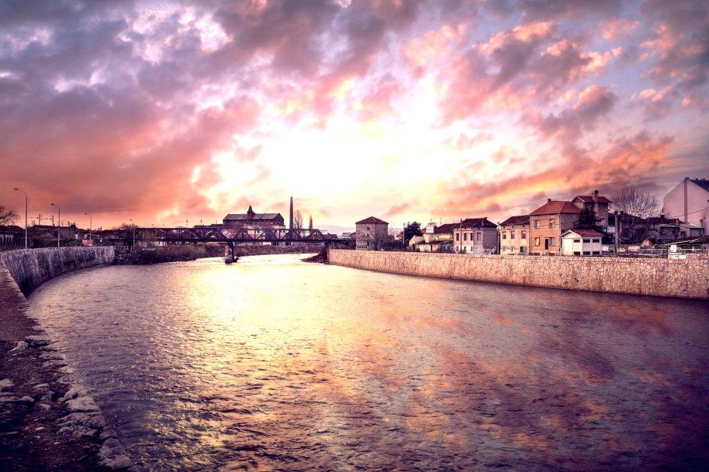 Serbien Balkan Niš Flod Rejser
