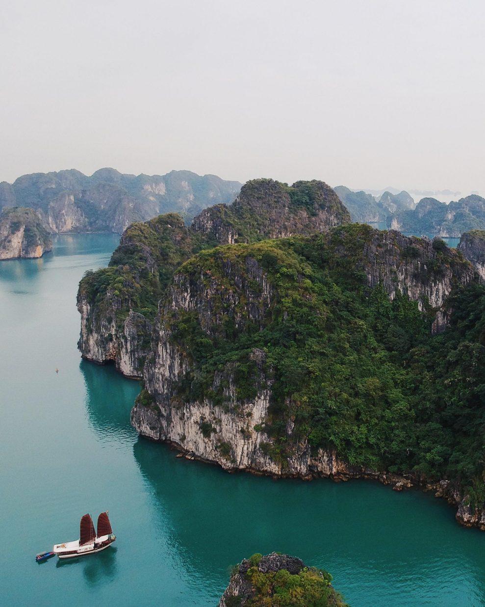 Vietnam Ha Long Bay Rejser