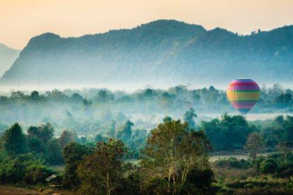 Laos Asien Bjerge Rejser