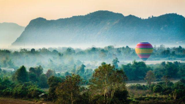 Laos Azije Planine Putovanja