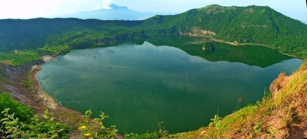 Philippines - Volcan Taal - Voyage