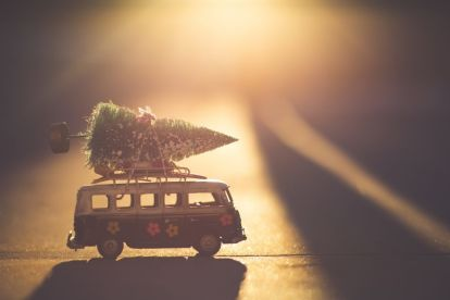 Christmas Car Advent December Travel