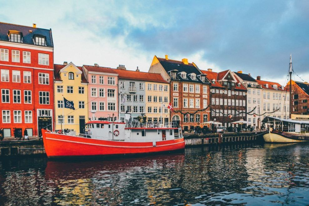 דנמרק קופנהגן Nyhavn Rejser