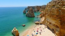 Portugal Algarve Strand Klipper Rejser