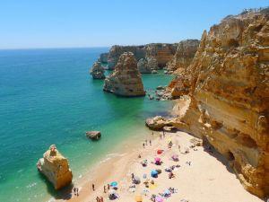 البرتغال الغارف بيتش كليفس السفر
