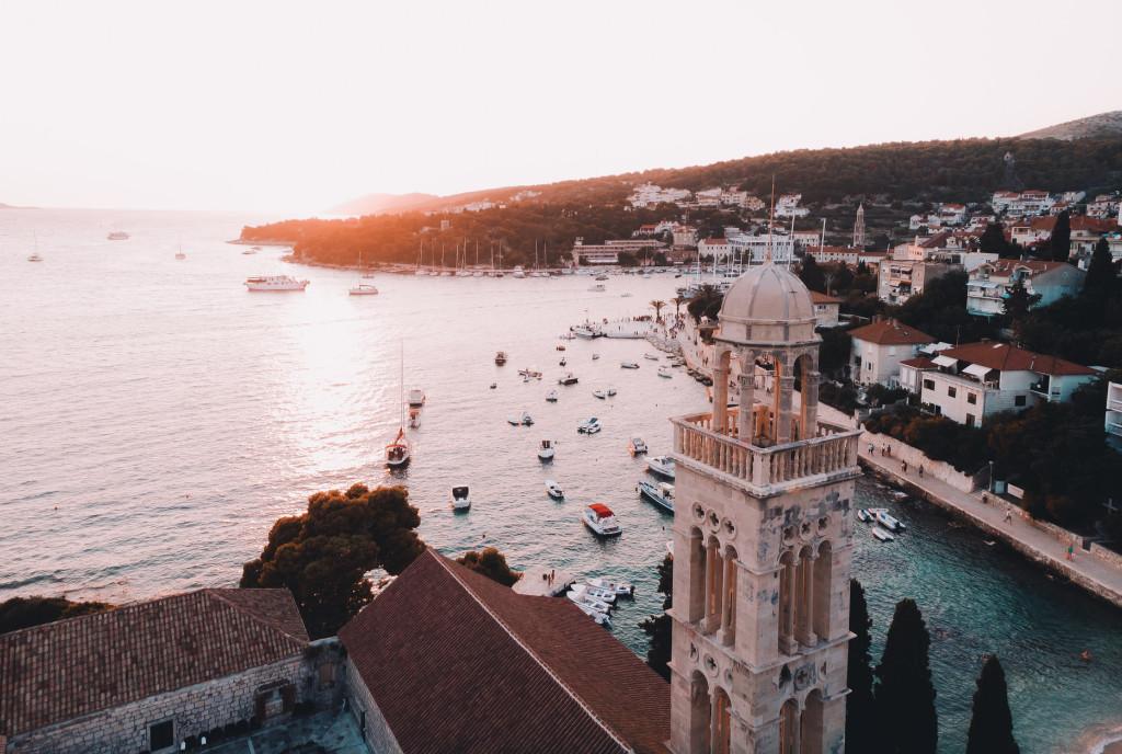Kroatien - Hvar - View - Reisen