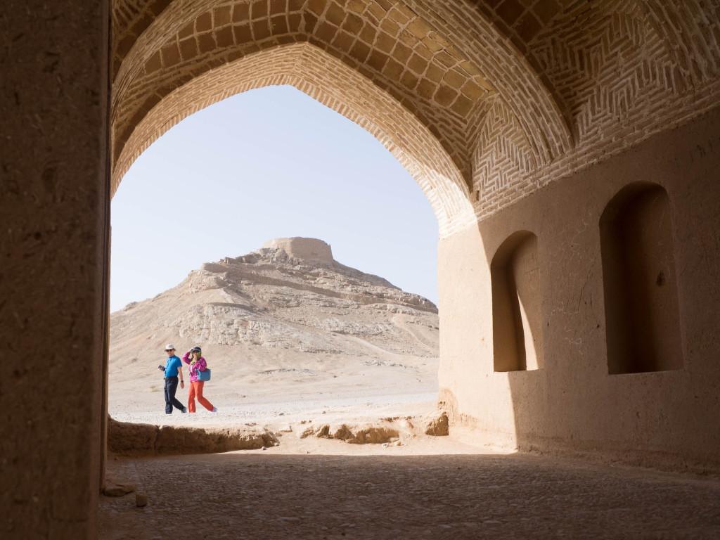 Iran - Yazd - Colline - Voyage