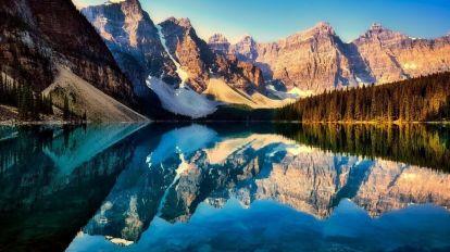 Canada Moraine Lake Rejser