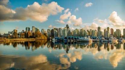 Kanada Vancouver skyline putovanja