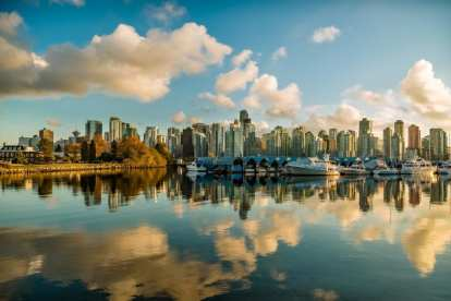Canada Vancouver skyline travel
