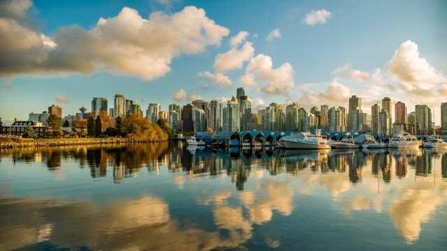 Canada Vancouver skyline rejser