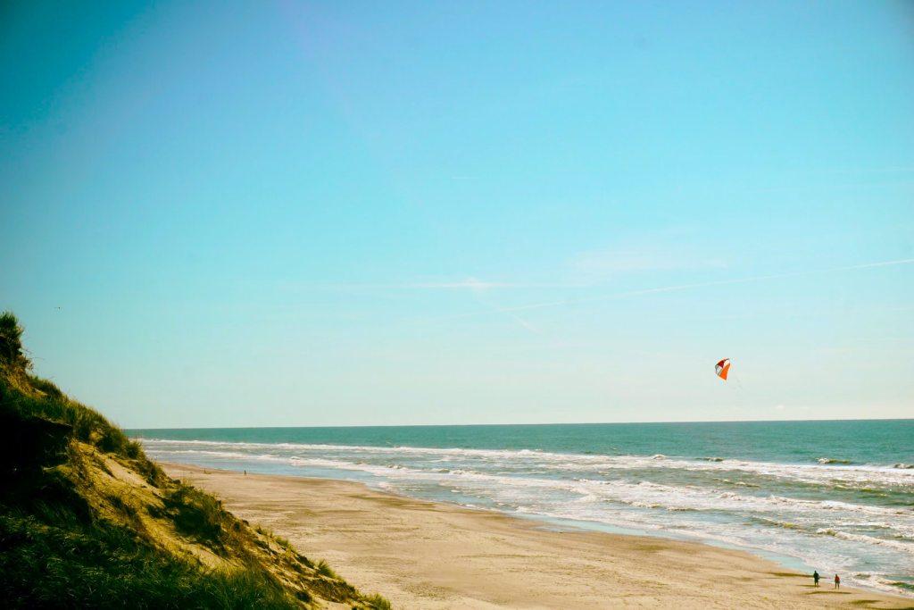 Beach, Denmark, Jutland - holiday sa tag-init sa Denmark