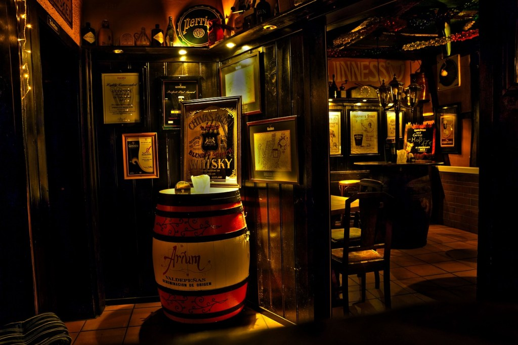 Irland - Kilkenny, pub, cider - rejser
