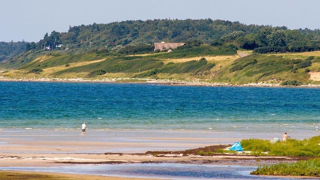 Danmark sejerøbugten gudmindrup strand vraget strand rejser - sommerferie i danmark