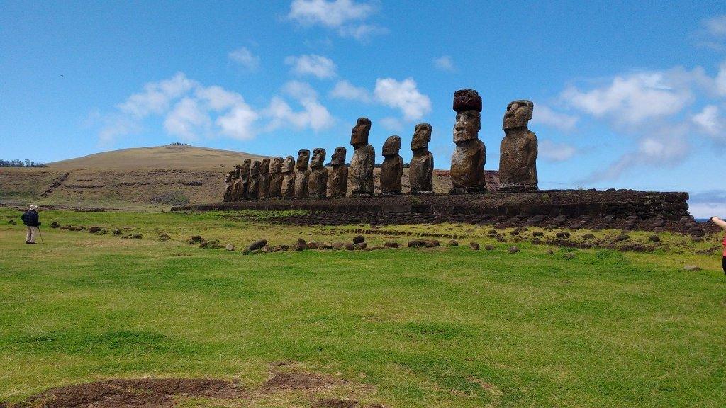 Chile Easter Island Moai statues travel