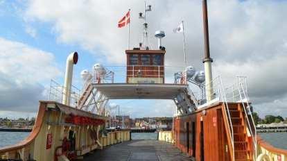 Danmark - Færge, dæk - rejser
