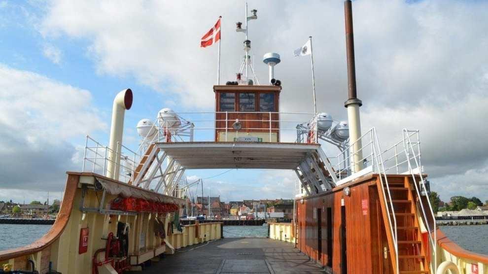 Denmark - Ferry, deck - travel