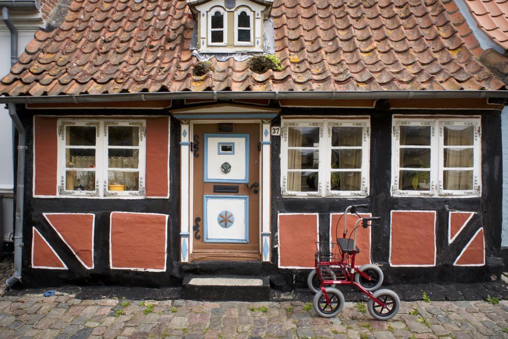 Denmark - Ærø, Ærøskøbing, half-timbering, walker travel tips - travel