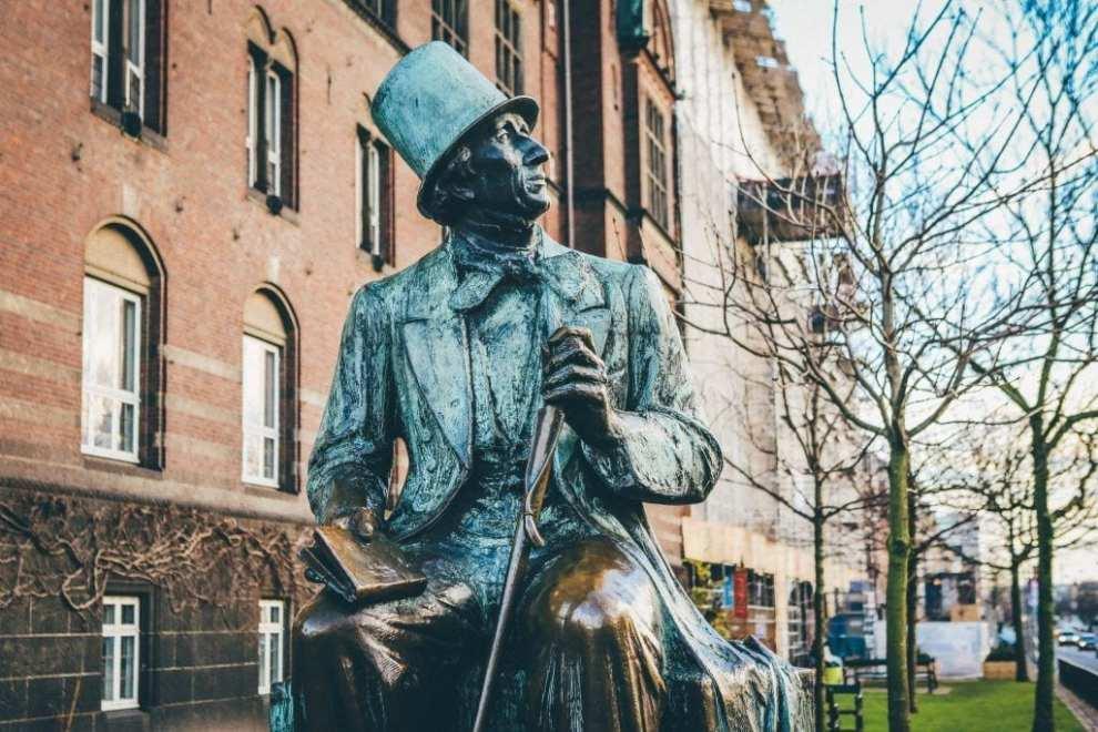 Denmark funen odense hc andersen reiser