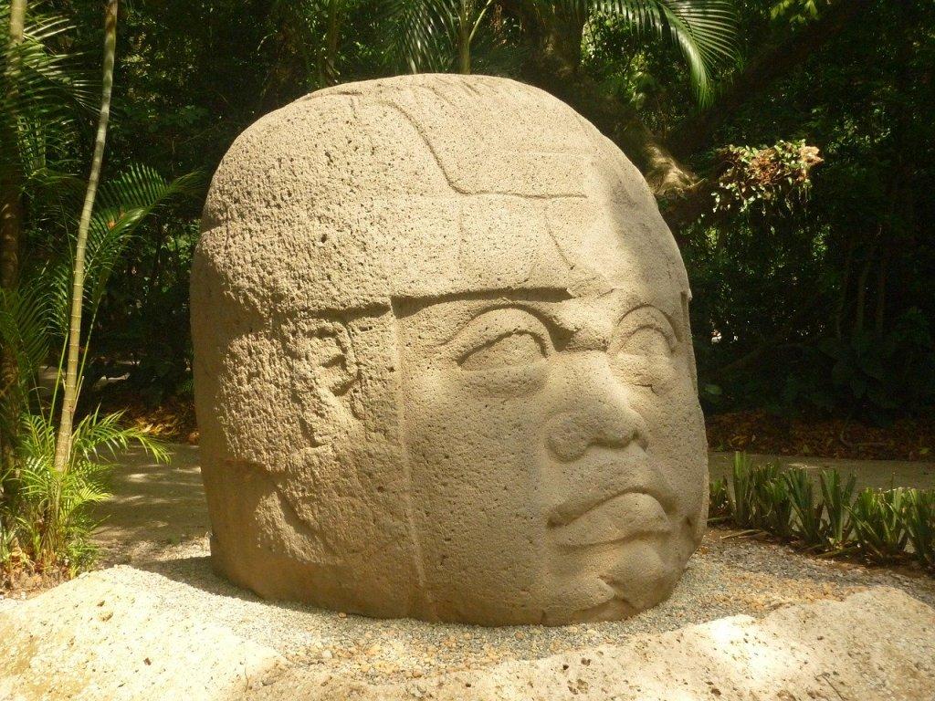 Mexico Olmec heads monument travel