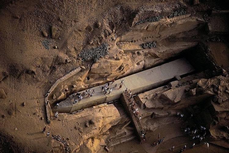 Egypt Aswan obelisk travels