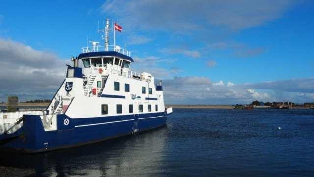 Venø, Danemark, ferry