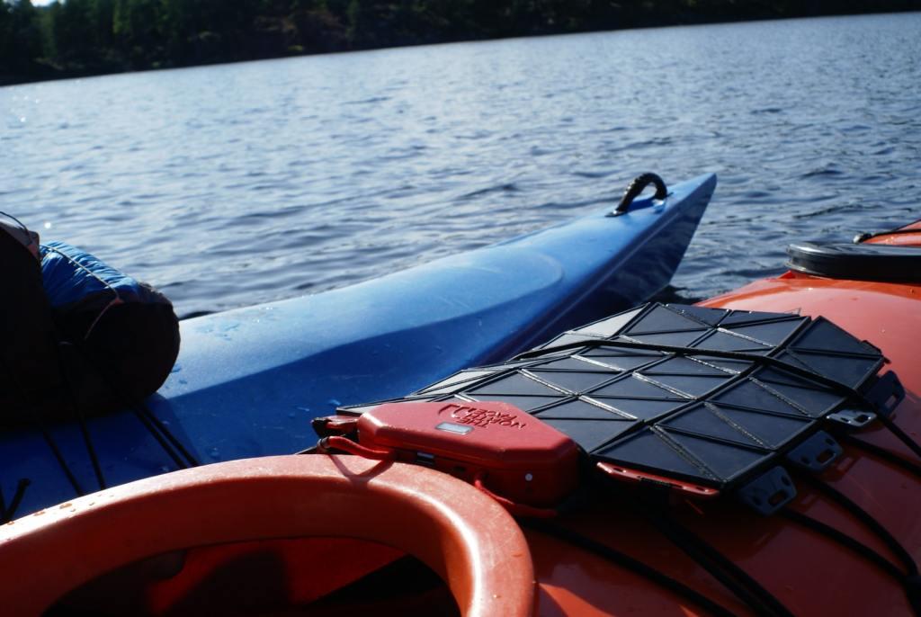 Kayak, vacanze, natura