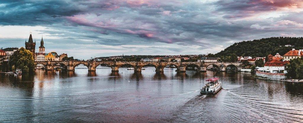 Tjekkiet - Prag, Karlsbroen - rejser