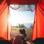 Tents, views - travel