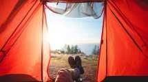 Tält, vyer - resor