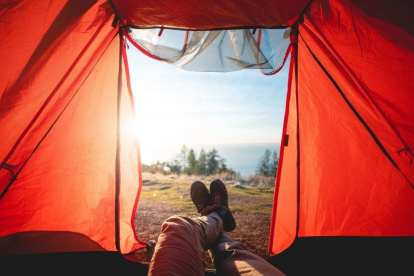 Namioty, widoki - podróże