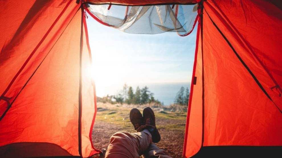 Tents, views - travel