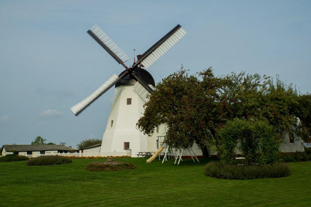 Denmark Bornholm windmill travels Kulturuge Bornholm