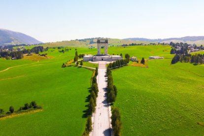 Italien - Vicenza, krigsmonument - rejser