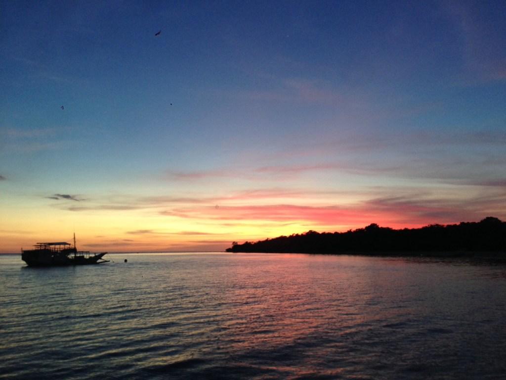 paglubog ng araw - Pilipinas - Paglalakbay