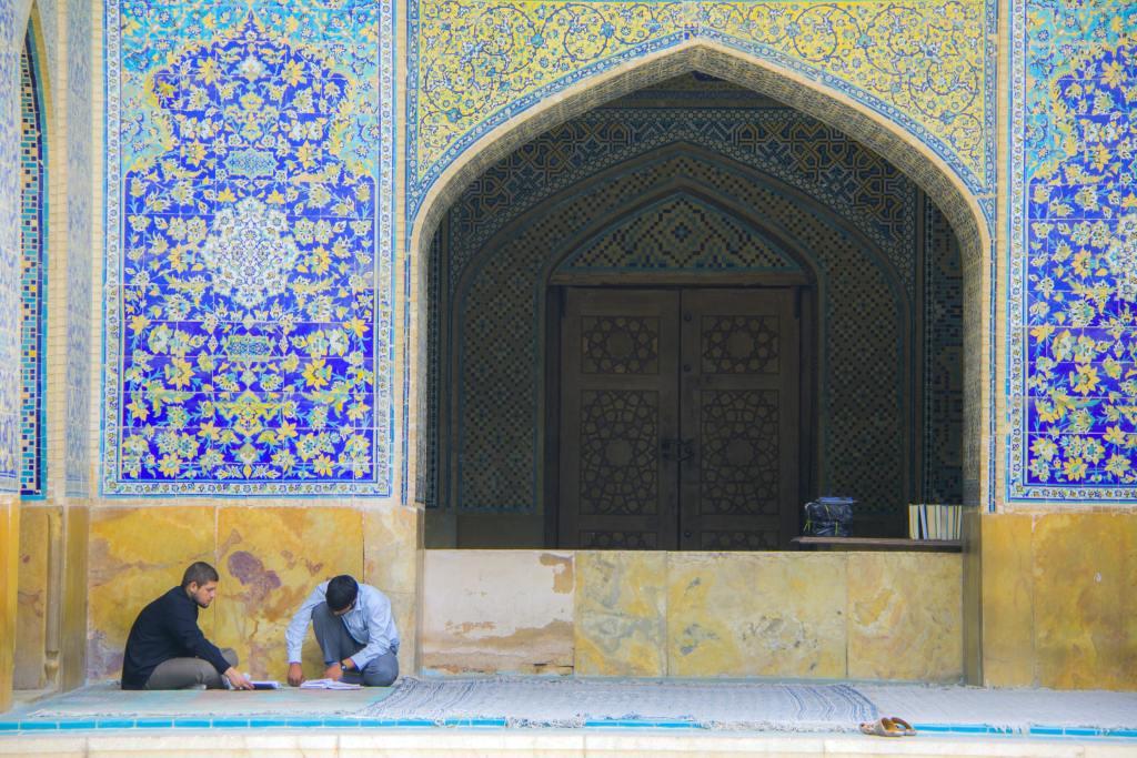 Imam mosque Esfahan - Iran - rejser