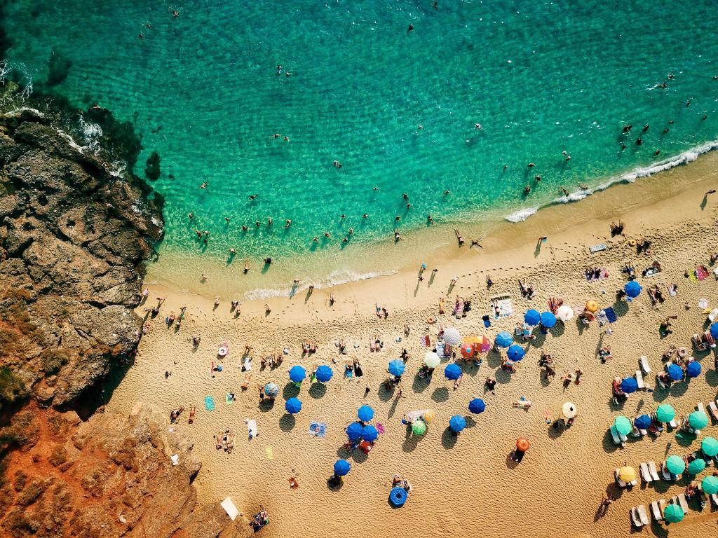 Tyrkiet - oplevelser i Alanya - Strand - Rejser